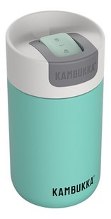 Kambukka isotherme drinkbeker Olympus 300 ml Mint-Linkerzijde
