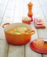 Le Creuset ronde stoofpan Signature volcanique-Afbeelding 1