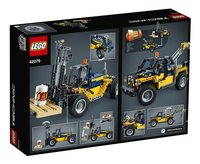 LEGO Technic 42079 Le chariot élévateur-Arrière