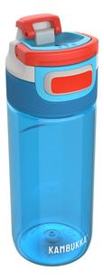 Kambukka drinkfles Elton 500 ml Caribbean Blue -Linkerzijde