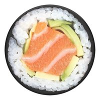 PopSockets Phone grip Salmon Roll-Bovenaanzicht