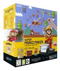 Wii U console Premium Pack 32 Go noir + Super Mario Maker FR/NL