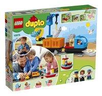 LEGO DUPLO 10875 Le train de marchandises-Arrière