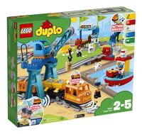 LEGO DUPLO 10875 Le train de marchandises-Côté gauche
