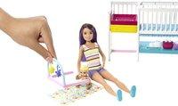 Barbie speelset Babysitter Skipper - Tweeling met kinderkamer-Afbeelding 1