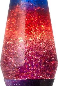Lampe à lave Galaxy avec paillettes mauve/bleu-Détail de l'article