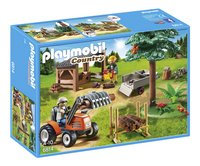 Playmobil Country 6814 Houthakker met tractor