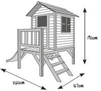 Sunny maisonnette en bois Lodge XL-Détail de l'article