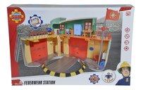 Speelset Brandweerman Sam Nieuwe Brandweerkazerne-Vooraanzicht
