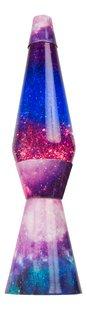 Lampe à lave Galaxy avec paillettes mauve/bleu-Avant
