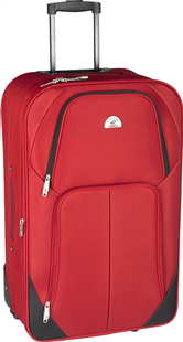 Beverly Hills Polo Club Valise souple Let's Go Upright rouge 66 cm-Avant