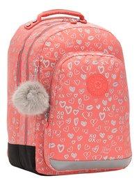 Kipling rugzak Class Room Hearty Pink Met-Linkerzijde