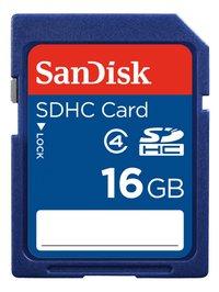 SanDisk carte mémoire SDHC Class 4 16 Go