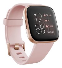 Fitbit montre connectée Versa 2 rose pétale/rose cuivré-Côté gauche