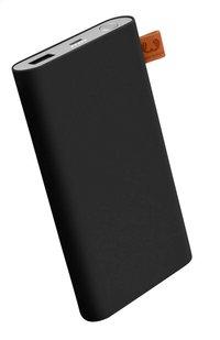 Fresh 'n Rebel lader Powerbank 6000 mAh Concrete Black-commercieel beeld