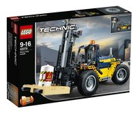 LEGO Technic 42079 Le chariot élévateur-Côté gauche