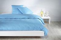 Mistral Home Housse de couette Dots coton 140 x 200 cm bleu