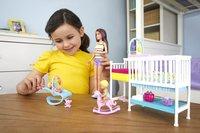 Barbie speelset Babysitter Skipper - Tweeling met kinderkamer-Afbeelding 3