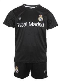 Voetbaloutfit Real Madrid 2018-2019 zwart maat 164-Vooraanzicht