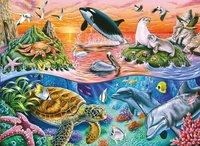 Ravensburger puzzle L'océan coloré-Avant