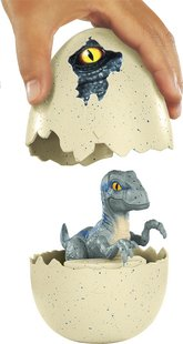 Jurassic World figurine Hatch 'n Play Dinos Velociraptor Blue-Détail de l'article