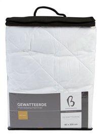 Bonnanotte Gewatteerde matrasbeschermer katoen 180 x 200 cm-Vooraanzicht