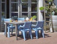 Allibert Tuinstoel Ibiza blauw-Afbeelding 1