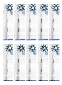 Oral-B Brossette de rechange CrossAction EB50 - 10 pièces-Avant