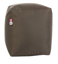 Pouf Cube brun