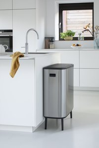 Brabantia Poubelle Touch Bin Bo Hi matt steel fingerprint proof 60 l-Image 5