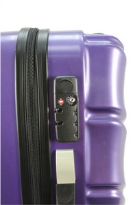 Transworld Harde trolleyset Curty Spinner purple-Artikeldetail