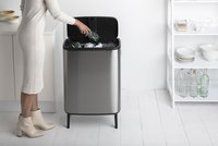 Brabantia Poubelle Touch Bin Bo Hi matt steel fingerprint proof 60 l-Image 7