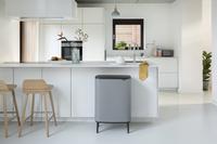 Brabantia Poubelle Touch Bin Bo Hi mineral concrete grey 60 l-Image 7