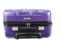 Transworld Harde trolleyset Curty Spinner purple-Bovenaanzicht