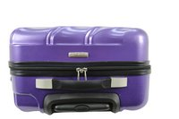 Transworld Set de valises rigides Curty Spinner purple-Vue du haut