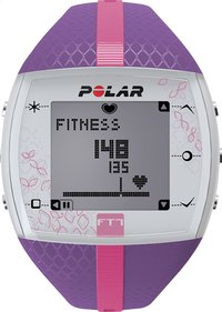 Polar cardiofréquencemètre FT7 lilas/rose