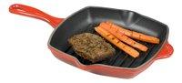 Le Creuset Poêle-gril L 20 cm x B 20 cm rouge cerise-Détail de l'article
