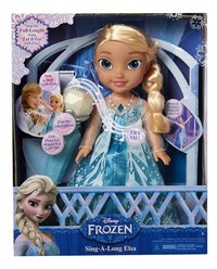 Poupée Disney La Reine des Neiges My First Toddler Sing a long Elsa avec micro-Avant