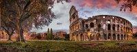 Ravensburger panoramapuzzel Colosseum bij Zonsopgang-Vooraanzicht