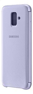 Samsung Wallet Cover voor Galaxy A6 paars-Achteraanzicht