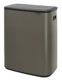 Brabantia Poubelle Touch Bin Bo Platinum 2 X 30 L
