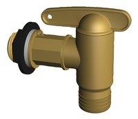 Garantia Robinet pour tonneau de pluie imitation laiton