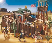 Playmobil Western 5245 Grand fort des soldats américains-Image 1
