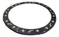 Beschermrand voor trampoline diameter 4,23 m zwart