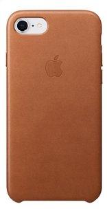 Apple coque en cuir pour iPhone 7/8 brun-Avant