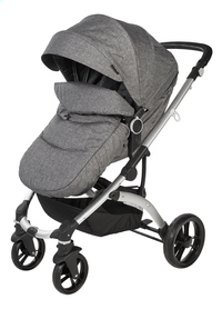 Dreambee Poussette Essentials smokey grey-Avant