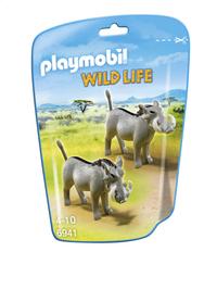 Playmobil Wild Life 6941 Wrattenzwijnen-Vooraanzicht