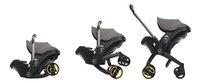 Doona+ Omvormbare draagbare autostoel Groep 0+ greyhound-commercieel beeld
