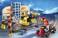 Playmobil City Action 6869 Starter Set Karting garage-Afbeelding 1