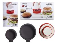 Lékué Hamburgerpers en -bakvormen Kit Burger-Artikeldetail
